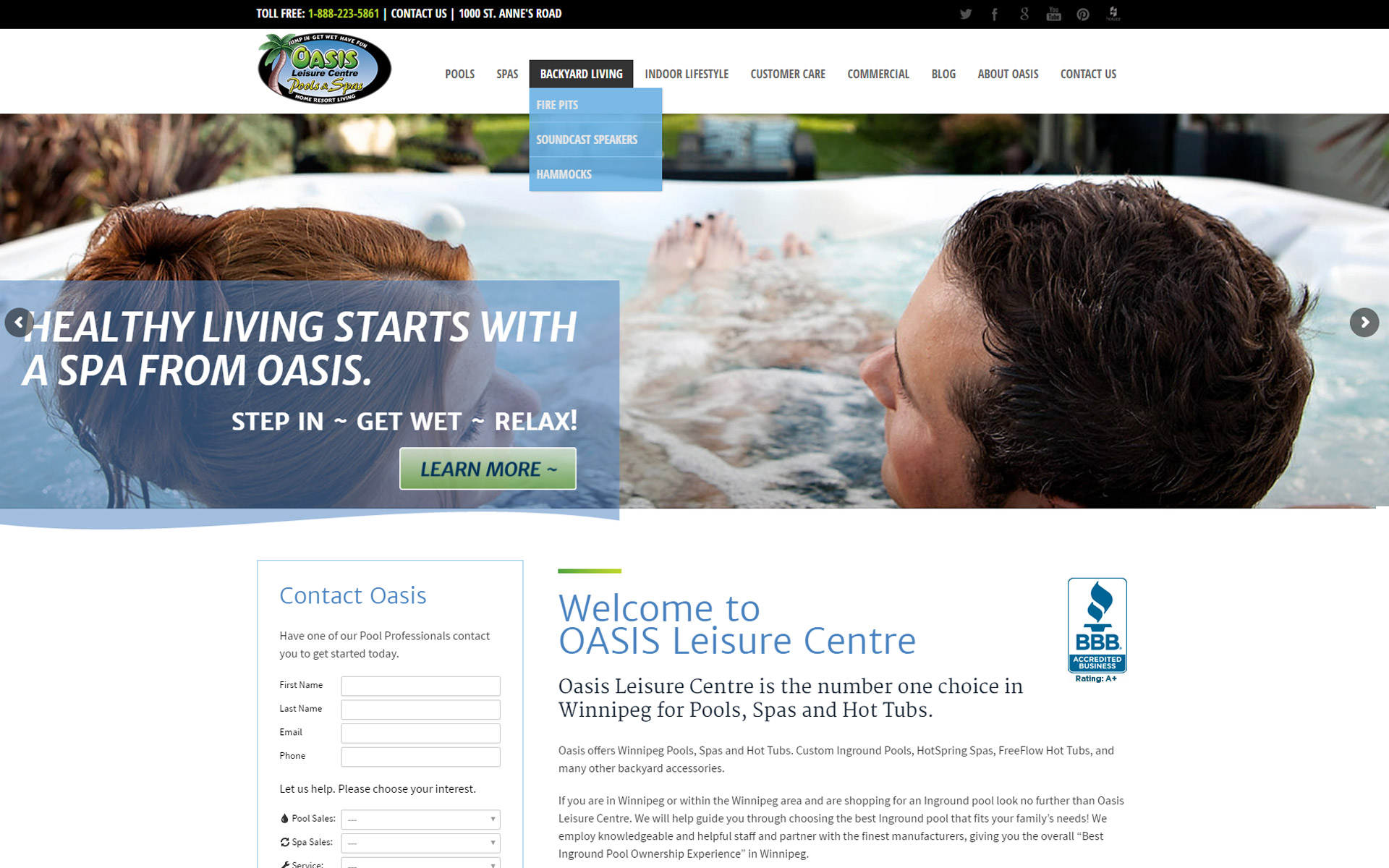 Oasis site
