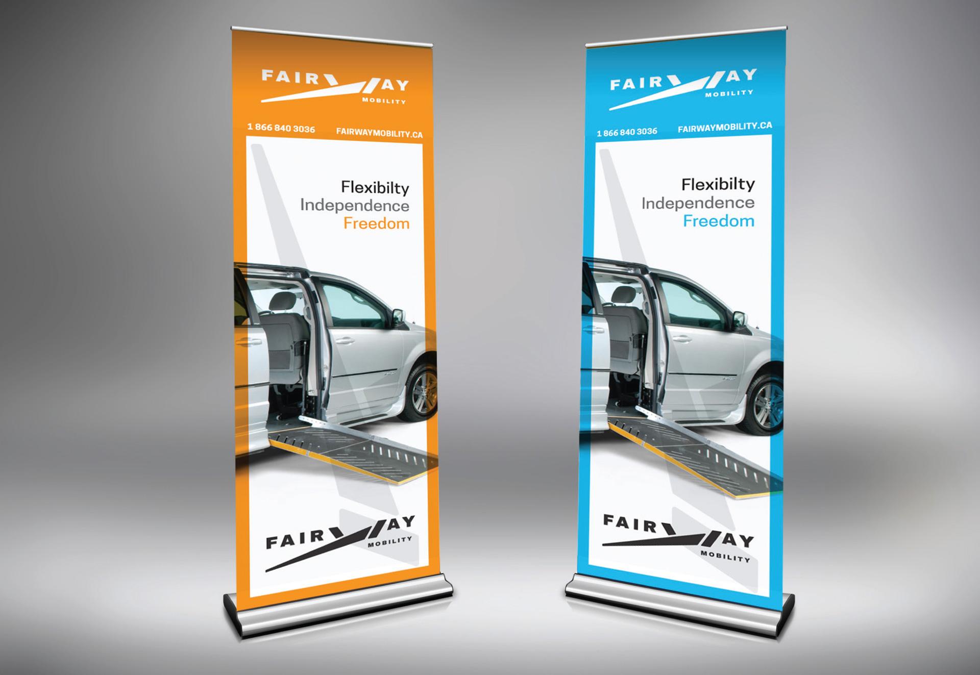 Fairway Mobility Branding