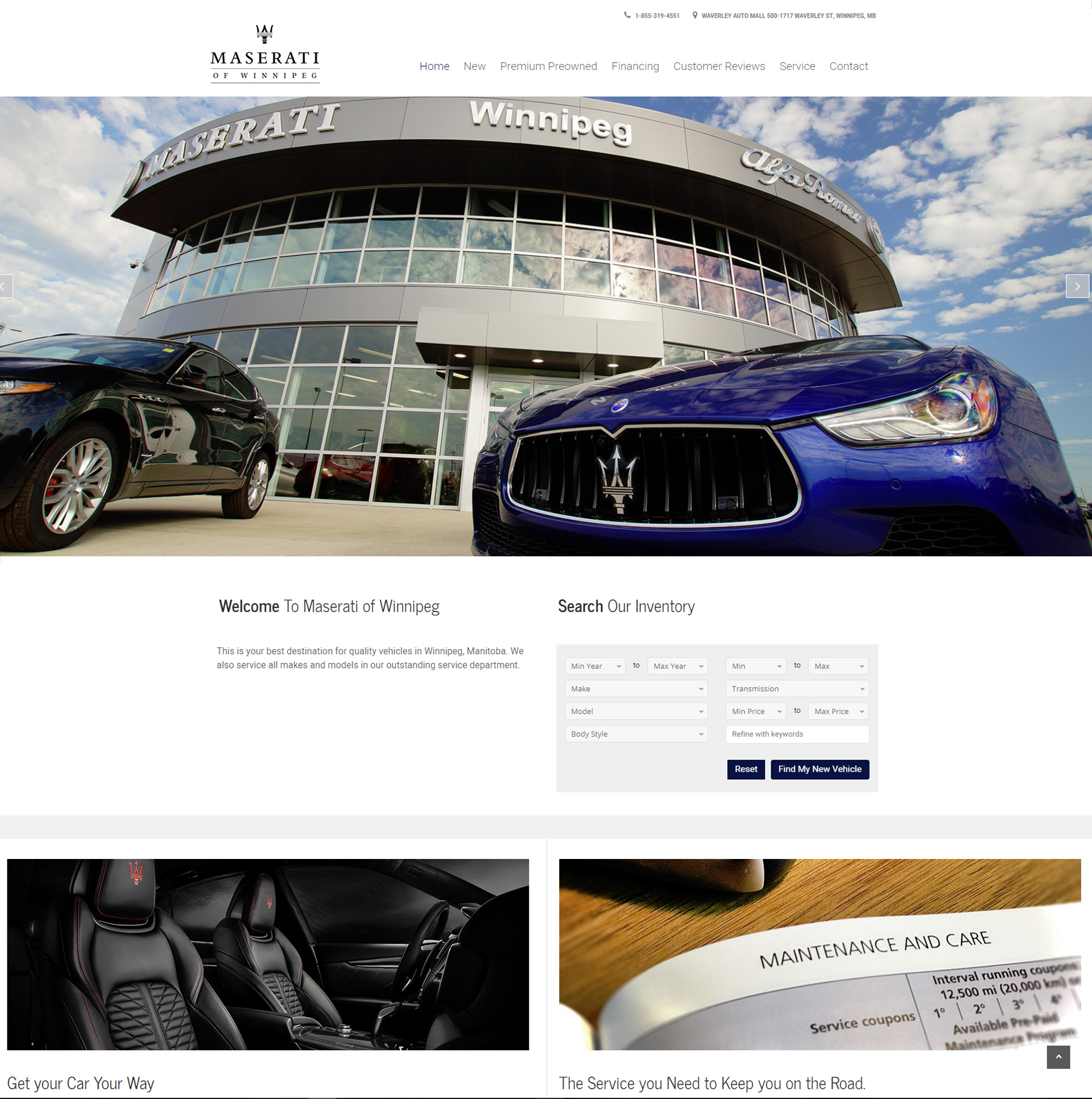 Maserati of Winnipeg