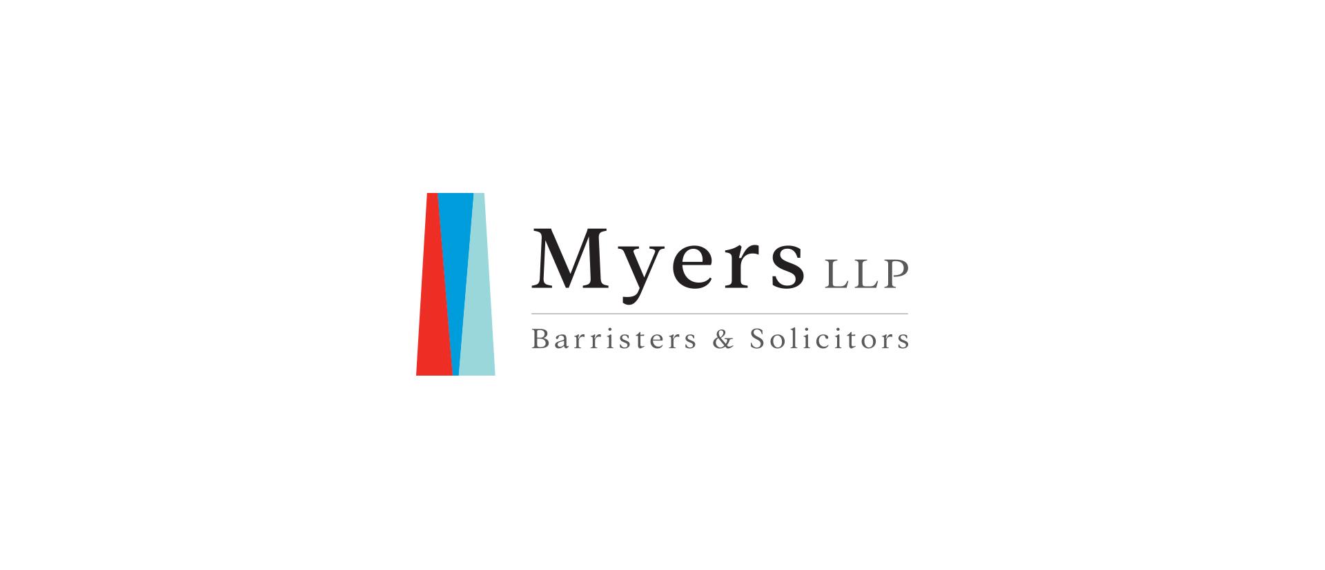 Myers LLP Branding