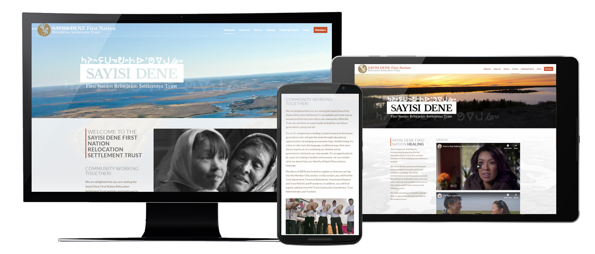 Sayisi Dene First Nation Trust Website