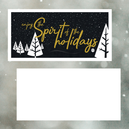 Spirit of the Holidays Card